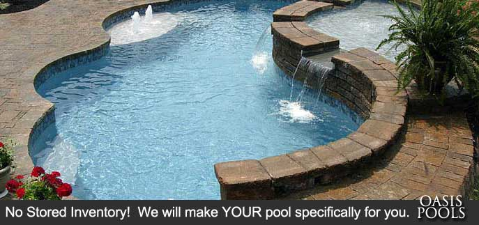 Oasis Pools Concrete Vinyl Liner And Inground Pool Builder Trilogy Pools Leisure And Custom Fiberglass Dealer For Greensboro Winston Salem Raleigh And Wilmington Nc Pool Builder Areas 336 471 0103